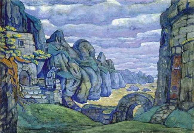 Tristan and Isolde|© Nicholas Roerich/wikimedia