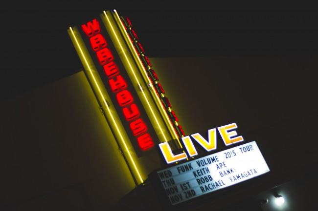 Warehouse Live   © Avis Francis