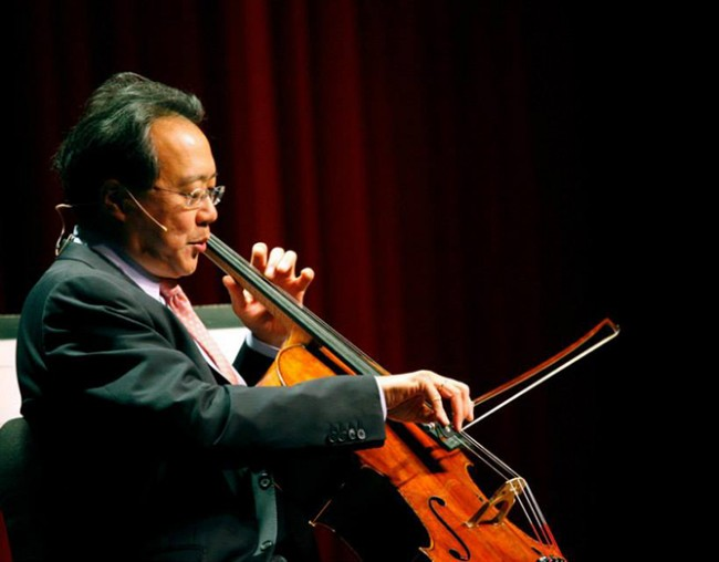 Yo-Yo Ma | © Distinguished Speaker Series