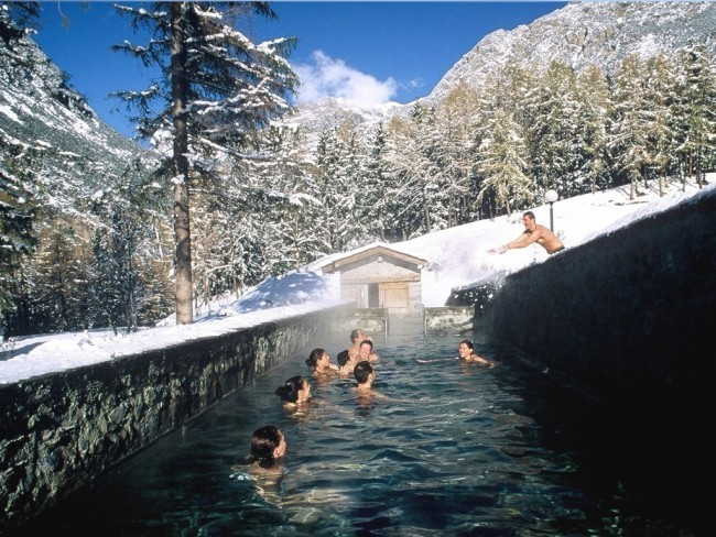 Italy 39 s best natural hot springs - Hotel bagni vecchi a bormio ...