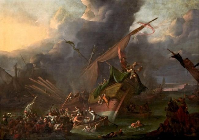 The Battle of Lepanto, by Pieter Brünniche | WikiCommons