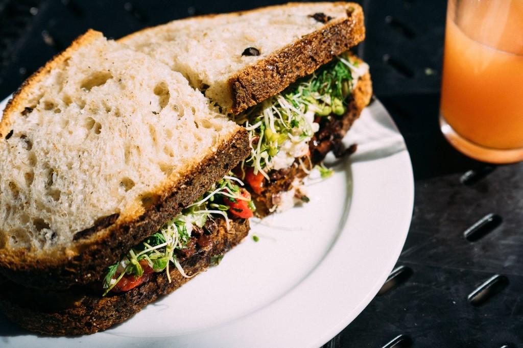 Cress Sandwich | ©Pexels
