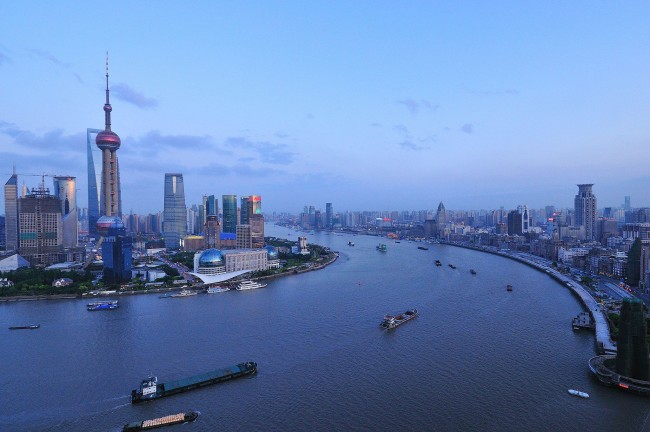 Huangpu River | © David Wong/WikiCommons