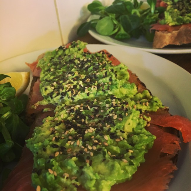 E5 Bakehouse Avocado Sourdough Toast | Courtesy of Healthy Stuff