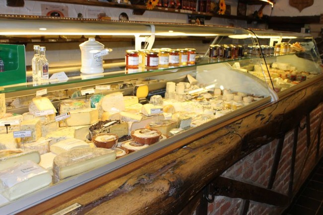 lots of cheese choices   Courtesy of Langhendries