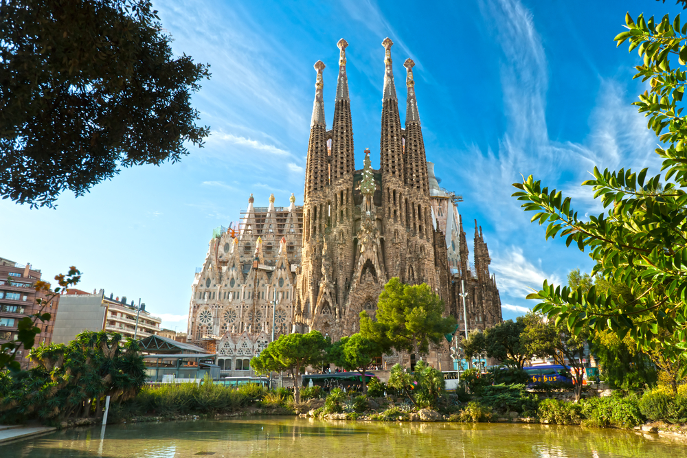 La Sagrada Familia - the impressive cathedral designed by Gaudi| © Luciano Mortula/Shutterstock