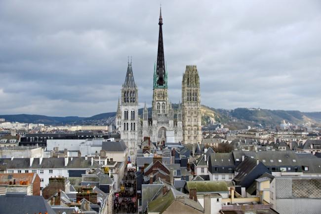 Notre Dame de Rouen Cathedral, Rouen | ©Frédéric Bisson/ Flickr