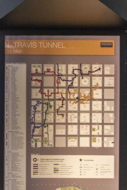 Houston Tunnels | © Michael Flores