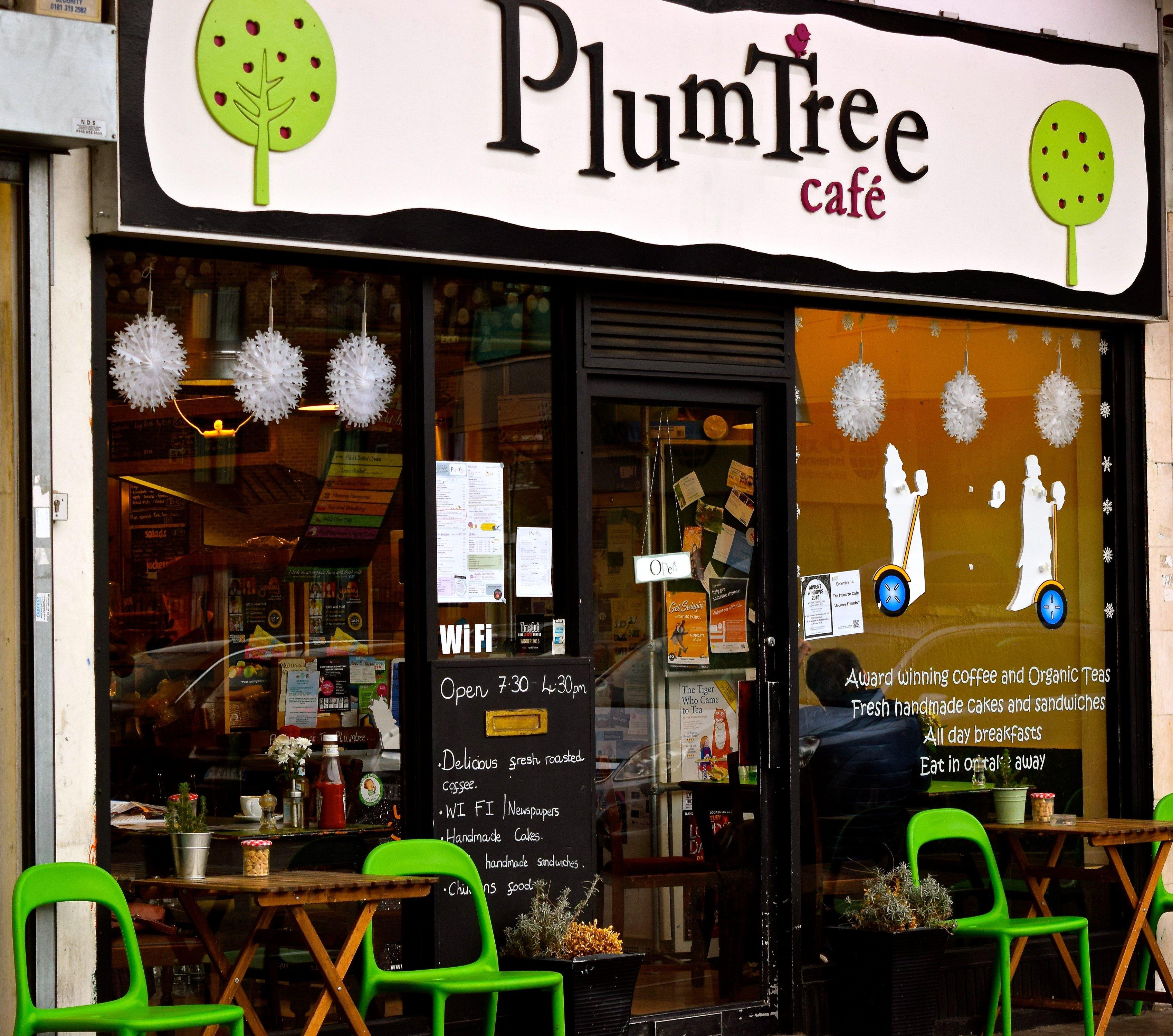 The Plumtree Cafe Menu