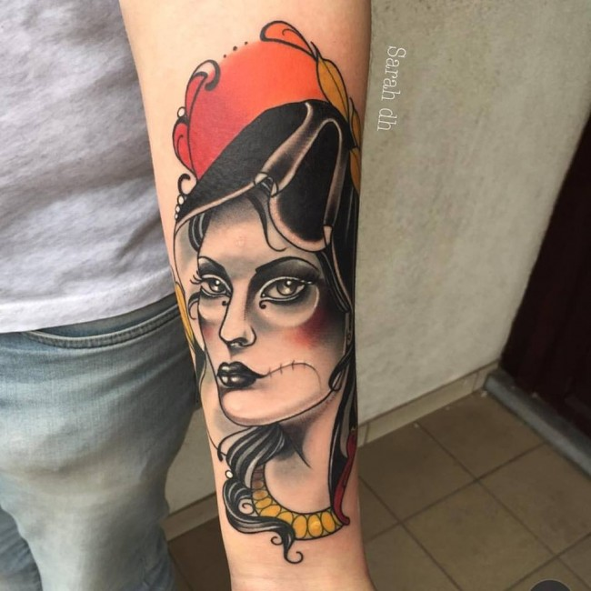 Tattoo by Sarah/Courtesy Electrum Tattoo