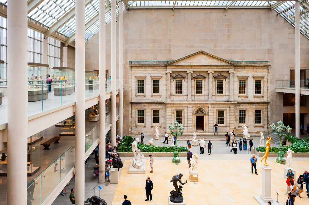 The Charles Engelhard Court in the American Wing of Metropolitan Museum of Art | © Anton_Ivanov/Shutterstock