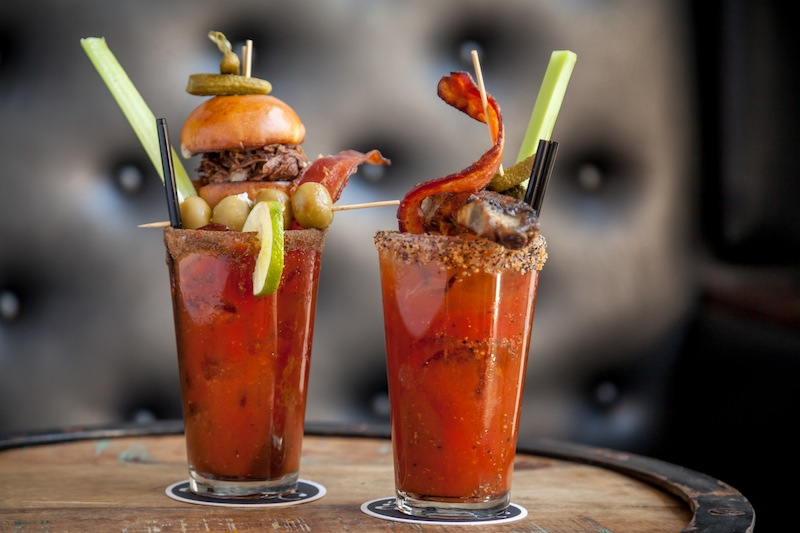 Bloody Marys | Courtesy of The Attic