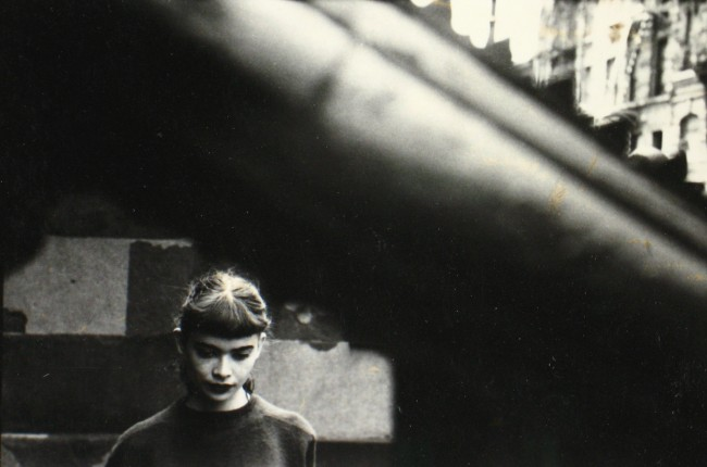 Daughter of Milton Abery,1950er | © Saul Leiter, Courtesy Howard Greenberg Gallery, New York