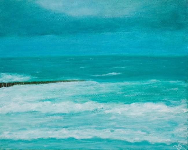 The Sea by Sabine Frömmer/Courtesy Anuschka Theunissen