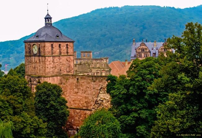 Schloss Heidelberg - Torturm | © Polybert49/Flickr