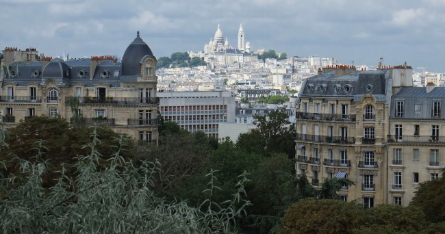 View over Montmartre, from Buttes Chant | © Eric Huybrechts/Flickr