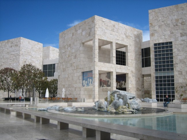Getty Center | ©Flickr/Sheila Thomson