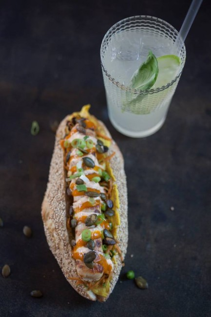 The Maharadja 'Haute Dog' | Courtesy of Würst