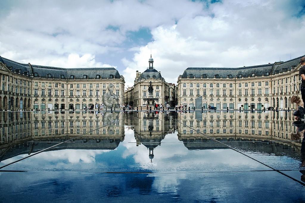 Place de la Bourse, Palais de la Bourse in Bordeaux|©Xellery/WikiCommons