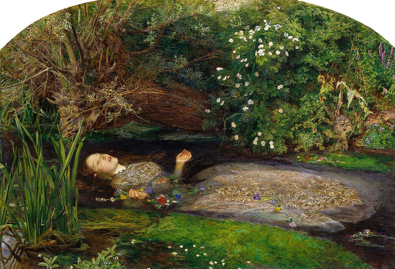 Image result for john william waterhouse ophelia