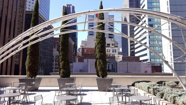Rooftop Installation at 150 California Street © Brixton Key