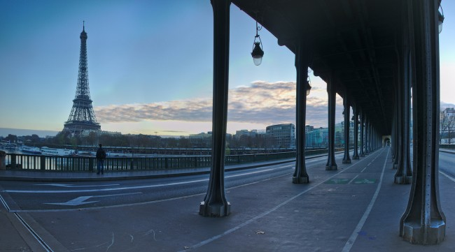 View from Bir Hakeim | © Zoltán Vörös/Flickr