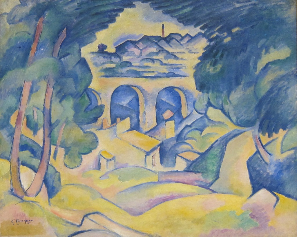 Georges braque the father of cubism for Braque peintre