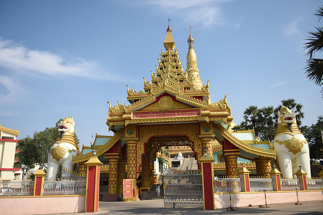 Global Vipassana Pagoda . Image courtesy Francisco Antunes/Flickr