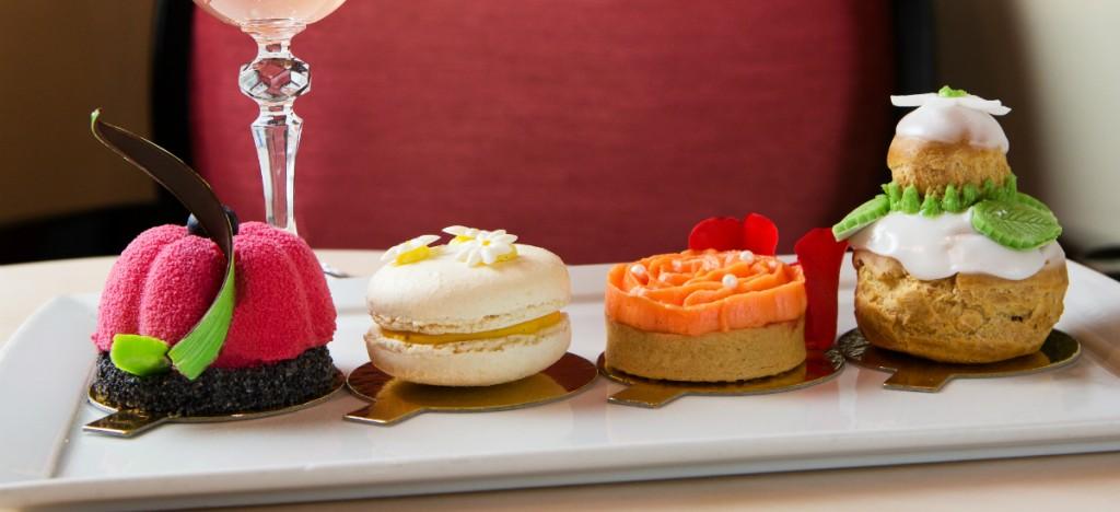 Chelsea Flower Show Inspired Desserts | Courtesy of Rose Garden