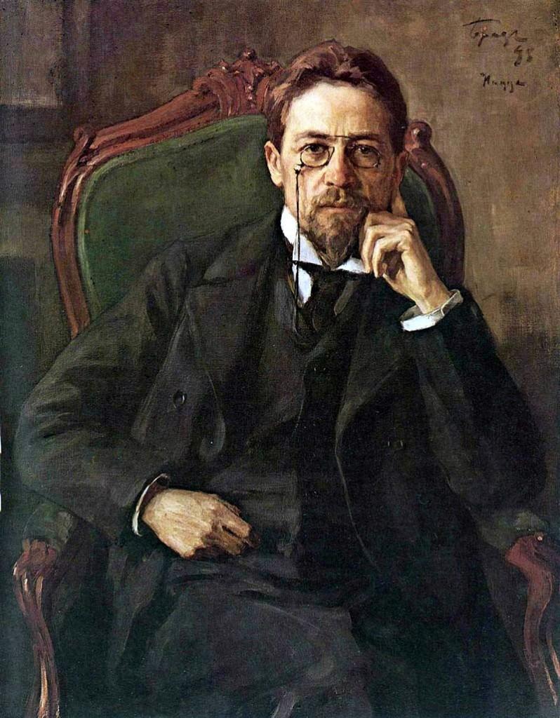 Chekhov's portrait, 1898  © Public Domain* / Osip Braz / WikiCommons