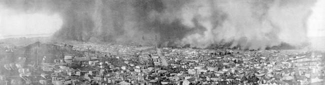 San Francisco Fire 1906 © Harry Sterling Hooper/Wikipedia