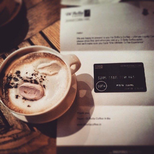 Di Bella coffee and loyalty card |© Nupur Barua/Flickr