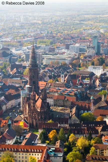 Freiburg from above | © Rebecca/Flickr