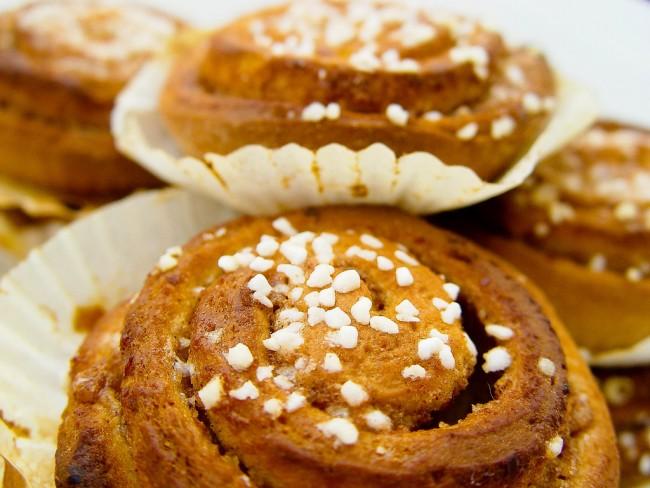 Kanelbullar, Swedish dessert | © Mike Bohle / Flickr