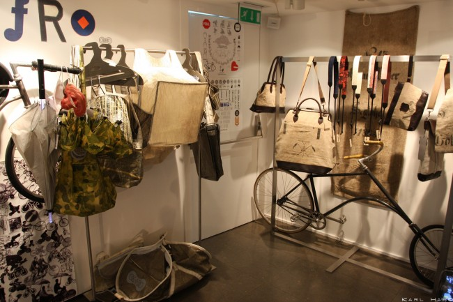 Inside Colette concept store, Paris. Colette X MeWecycle exhibition| © Flikr/Karl Hab