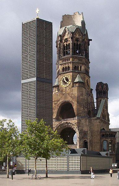 The Kaiser Wilhelm Memorial Church in Berlin | © p.d. / WikiCommons
