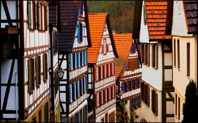 Timber-framed houses in Schiltach | © Guillén Pérez/Flickr