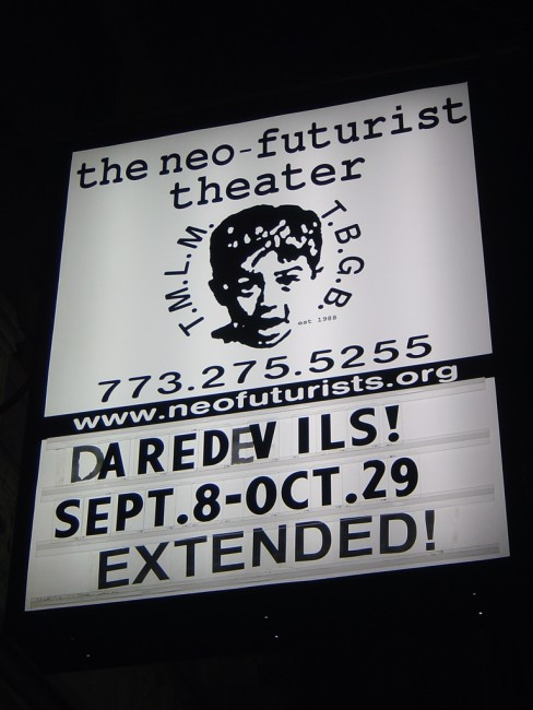 The Neo-Futurists in Chicago | © Chris Metcalf/Flickr