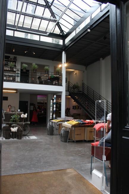 Inside the concept store Merci, Le Marais |© Flikr/Paris Sharing