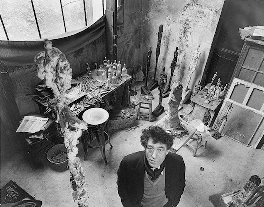 Giacometti In His Studio © Cea + | Flickr