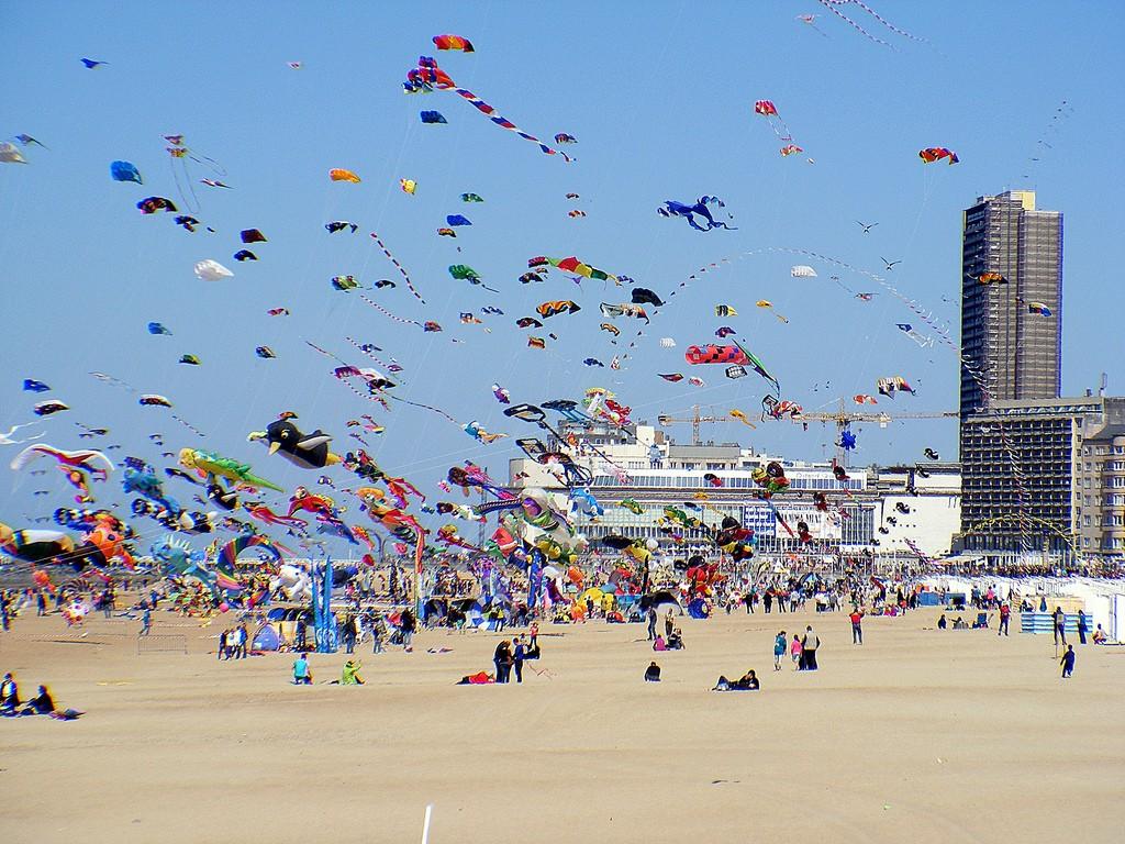 International kites festival in Ostend  © sophie / Flickr