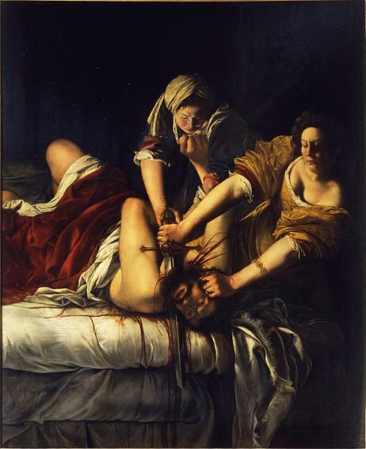 Artemisia Gentileschi, Judith Beheading Holofernes, 164-1620 | © Uffizi Gallery/Wikicommons