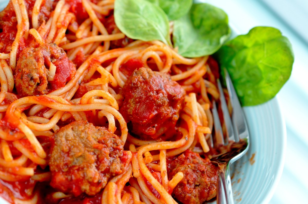 Spaghetti and meatballs | © Dave Crosby/Flickr