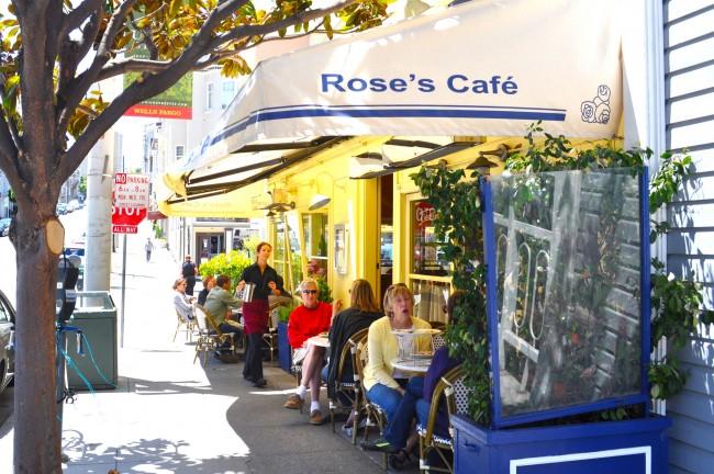Rose's Cafe © Sharon Hahn Darlin