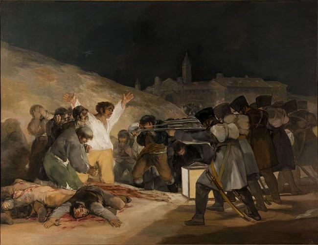 Tres de Mayo by Francisco de Goya   © The Prado/WikiCommons