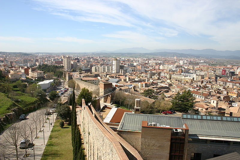 Girona City Wall view | Yearofthedragon © / WikiCommons