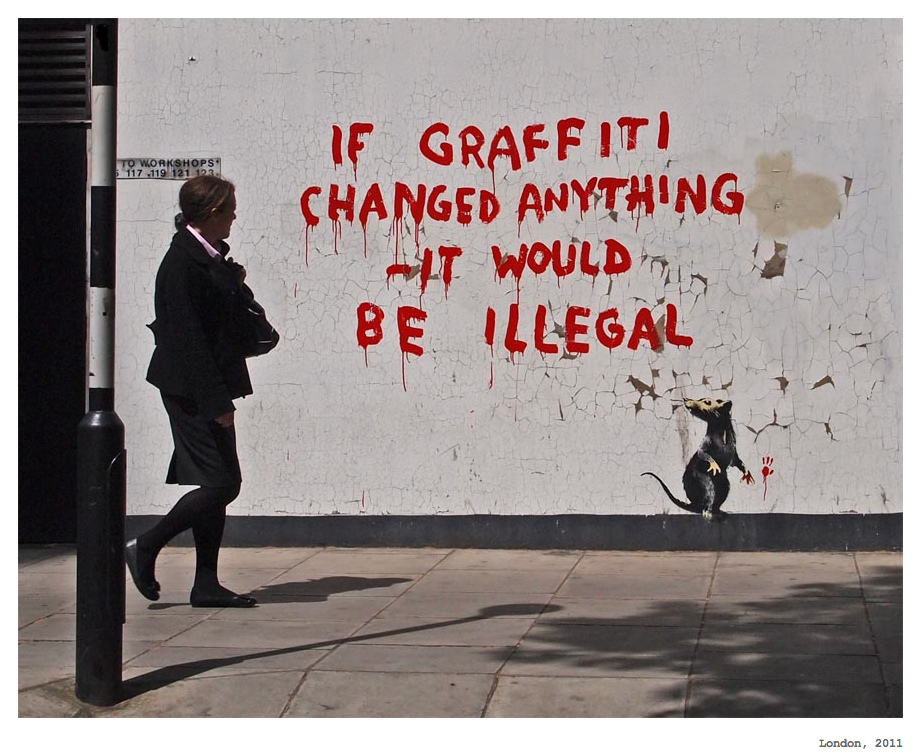Banksy's Latest Mural Critiques Calais' Treatment Of Refugees