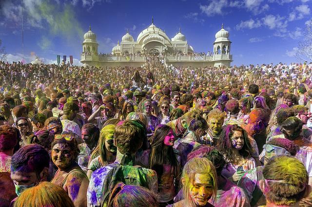 Holi/ Festival of Colors © Steven Gerner / Flickr