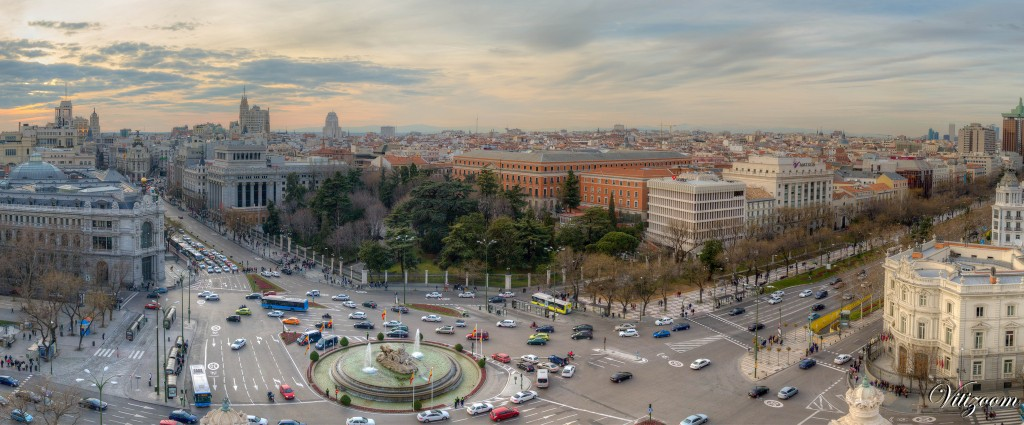 View from Palacio de Cibeles towards Gran Vía | © Victor Rivera / Flickr