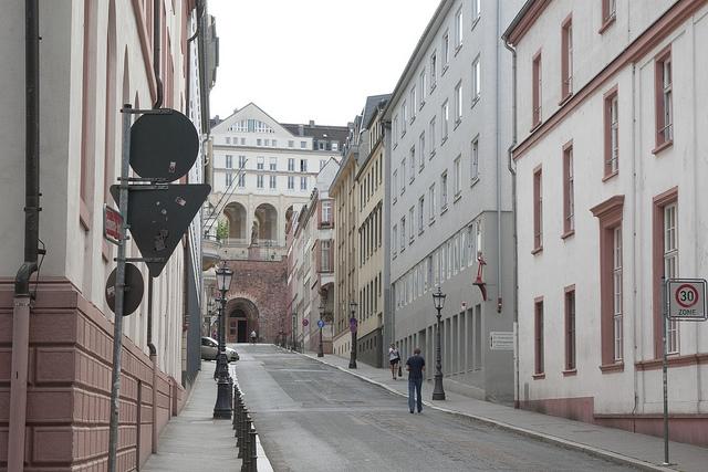 A street in Mainz | ©eugenen/Flickr